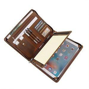 Handmade Crazy Horse Leather Portfolio Case